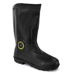 Mid-Calf Rain Boots Abaro 3000(BK)