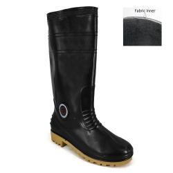Calf Rain Boots 7000(BK)