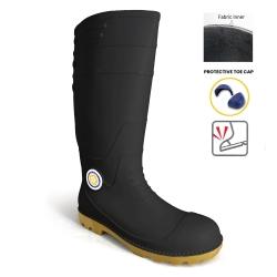 Calf Rain Boots 8000STC(BK)