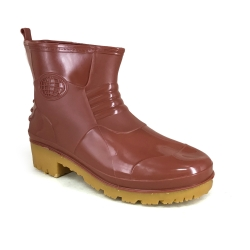Ankle Rain Boots 9000 Maroon SMART SPIDER