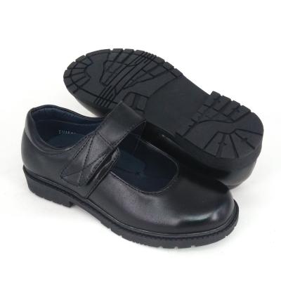 Black PVC Leather International School Shoes Hostel / Boarding / Uniform / Formal ShoeGirl FMA529F6