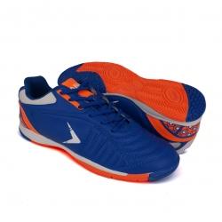 Blue Futsal Shoes PU Leather FUA510A1
