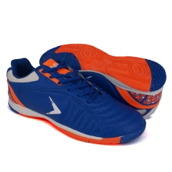 Blue Futsal Shoes PU Leather FUA610A1