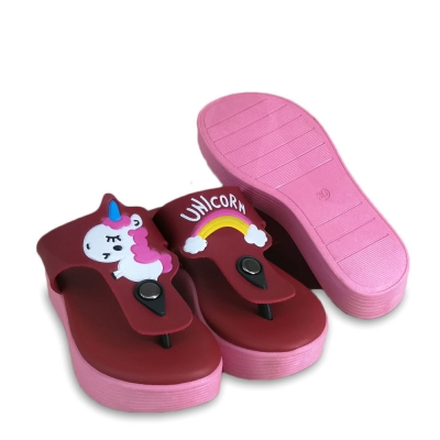 Kids Slippers Red SLL420G1