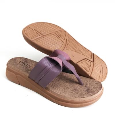Women Slippers Sandal SLL616Z3 Purple