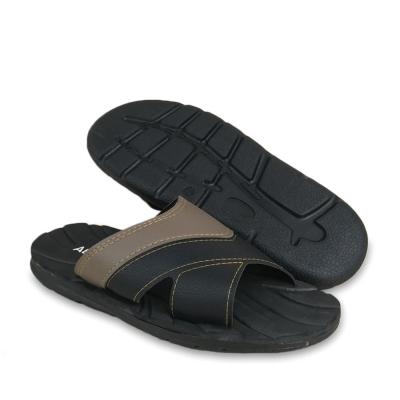 Men Slippers Black SLL71M1