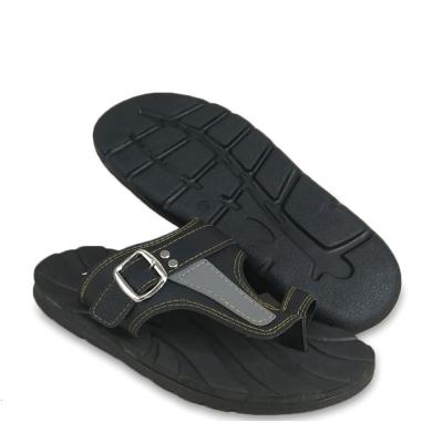 Men Slippers Black SLL71M3