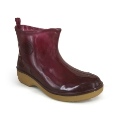 Ankle Rain Boots TS-18 Maroon SMART SPIDER