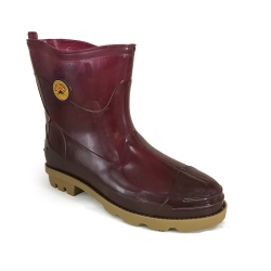 Ankle Rain Boots Smart Spider TS-28 Maroon SMART SPIDER