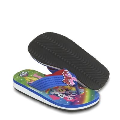 Kids Unicorn Slipper Blue 334