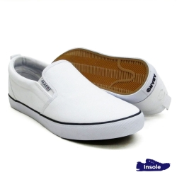White School Shoes Secondary Canvas Unisex 7285-B