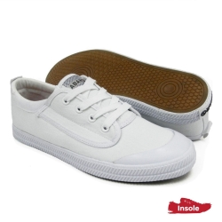 White School Shoes Secondary Canvas Unisex 7768