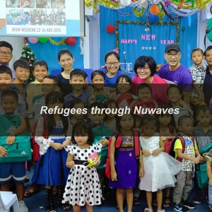Donation to Refugee : Nuwaves