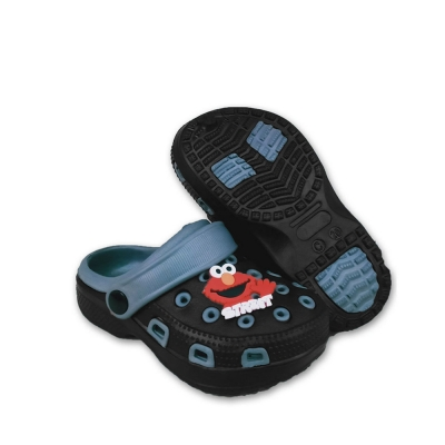 Kids Slippers Black C.JHC4244-5K
