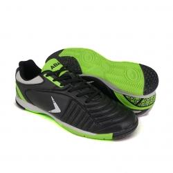 Black Futsal Shoes PU Leather FUA510A1