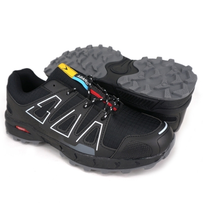 Men Hiking Shoes Black HIA711C1-L