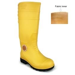Yellow Calf Rain Boots Korakoh M707 (YL)