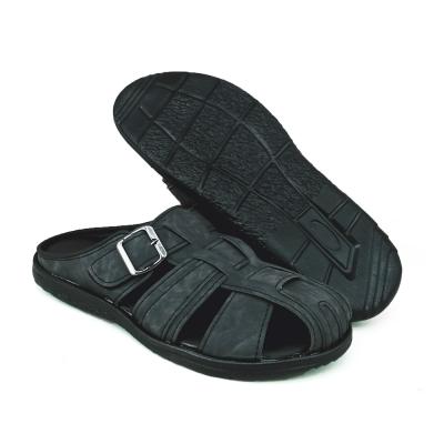Men Mule Shoes Black MLL711A3