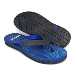 Flat Slipper Men Blue/Red FFA711C2