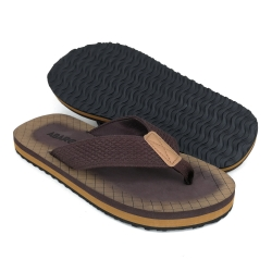 Flat Slipper Men Brown/Grey FFA711D1