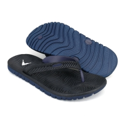 Flat Slipper Men Black/Dark Blue FFA711E1