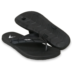 Flat Slipper Men Black/Grey FFA711F1