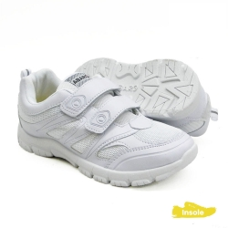 White School Shoes Mesh + PVC Primary/Secondary Unisex 2232