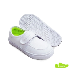 White School Shoes Canvas Pre-School/Primary Girls 2515