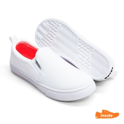 White School Shoes Canvas Pre-School/Primary Unisex 2516