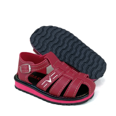 Toddler Baby Casual Sandals Red SDL324A4