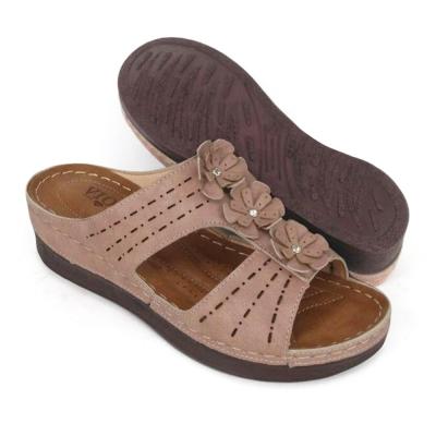 Flat Women Slipper Cream SLA63J7