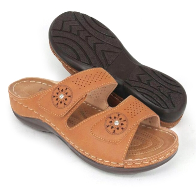 Women Slipper Camel SLA63K9