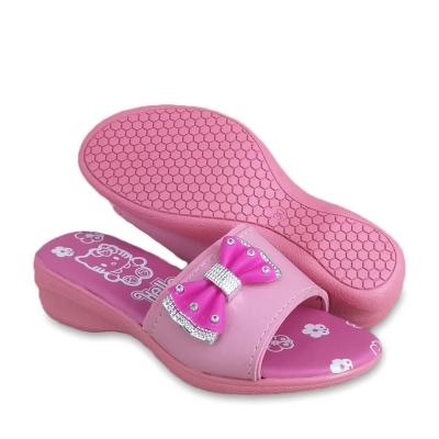 Kids Slippers Low Heel Pink SLL41J1