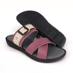 Flat Slipper Ladies Purple SLL61AB1