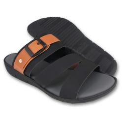Flat Slipper Ladies Black SLL61AB4