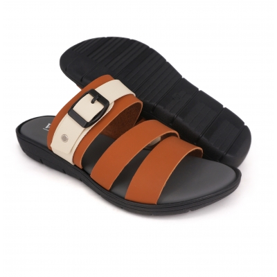 Flat Slipper Ladies Almond SLL61AB4