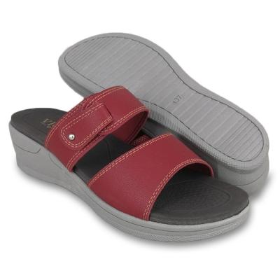 Women Slippers Maroon SLL620AJ2