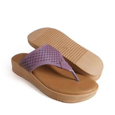 Women Slippers Purple SLL623A14