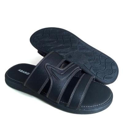 Men Slippers Black SLL72D5