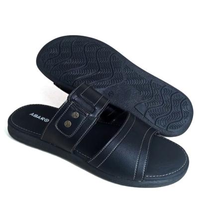 Men Slippers Black SLL72D6