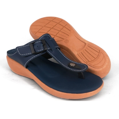 Women Slippers Navy Blue SLL61AD5