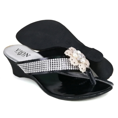Women Wedges Indian Silver WDL61A6