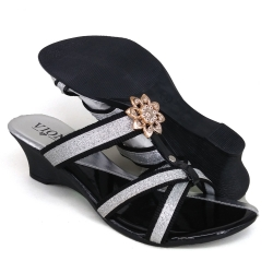 Women Wedges Indian Silver WDL61A5