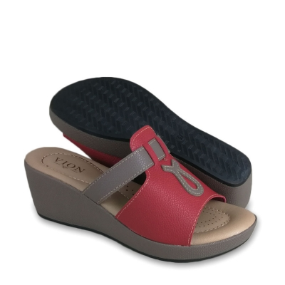Women Wedges Red WDL620P8